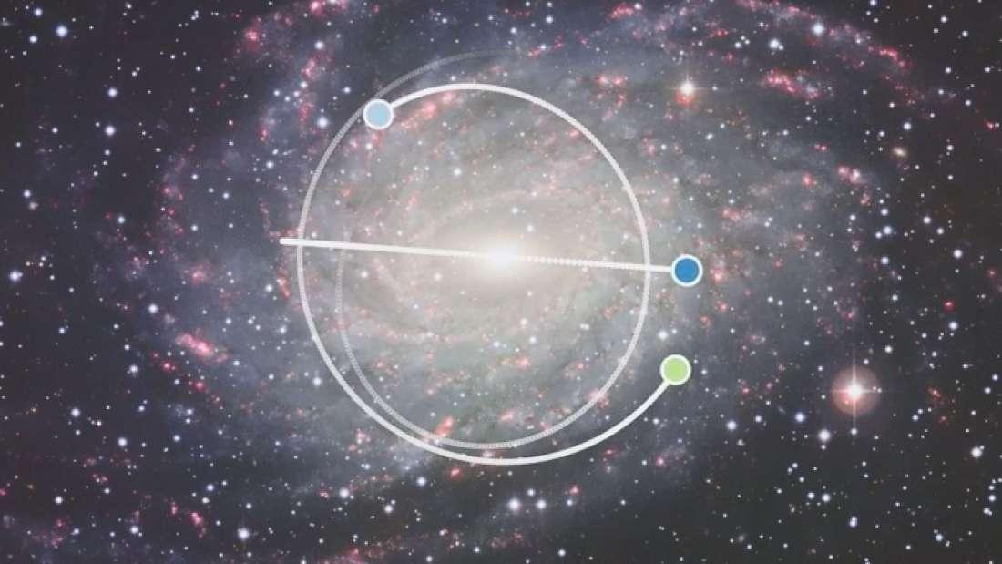 Descubren una estrella muy vieja en el disco de la galaxia