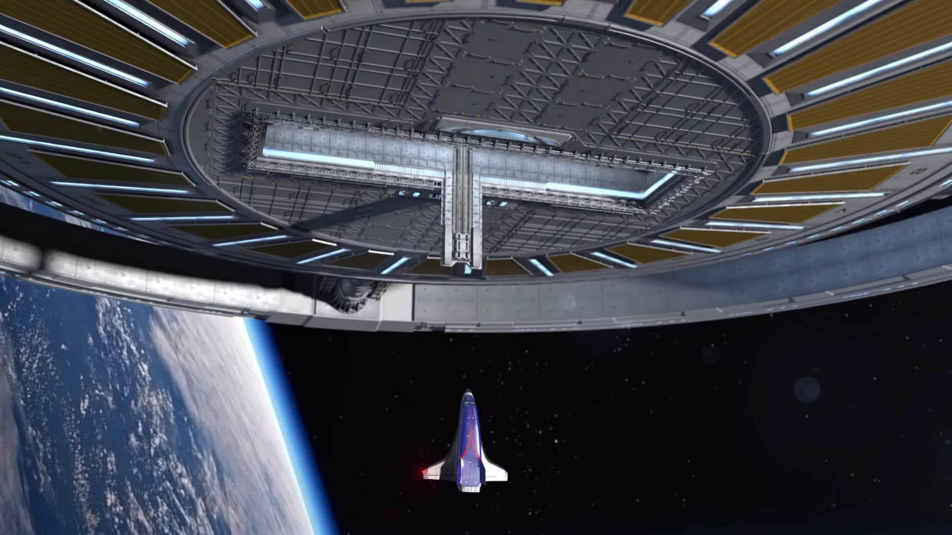 Gateway Foundation avanza hacia su estación orbital