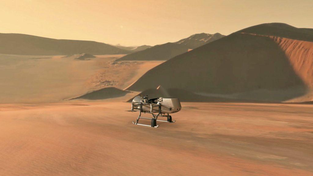 Dragonfly buscará otros tipos de vida en Titán.