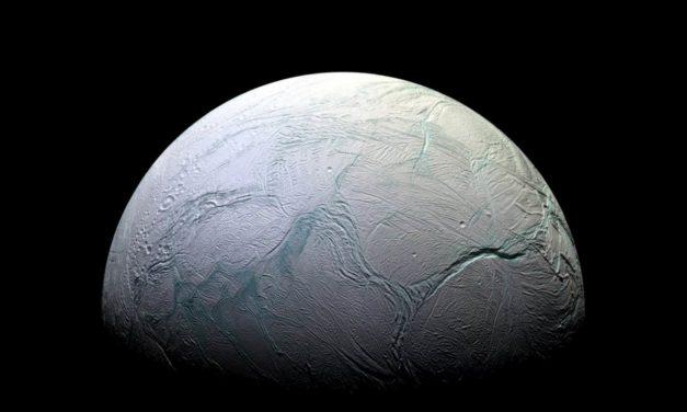 El océano de Encélado podría tener corrientes