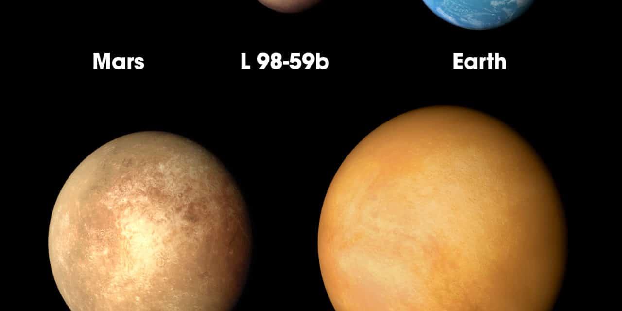 L 98-59: tres nuevos exoplanetas descubiertos por TESS