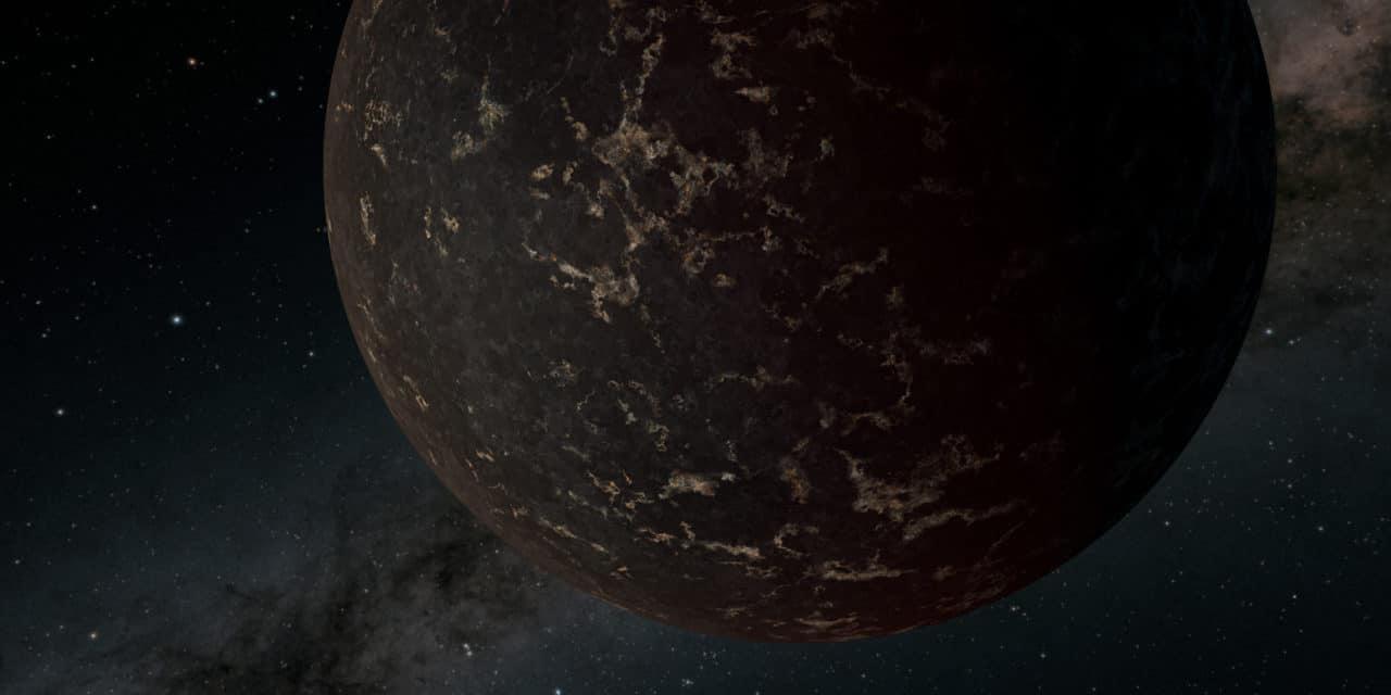 Analizan la superficie del exoplaneta LHS 3844b