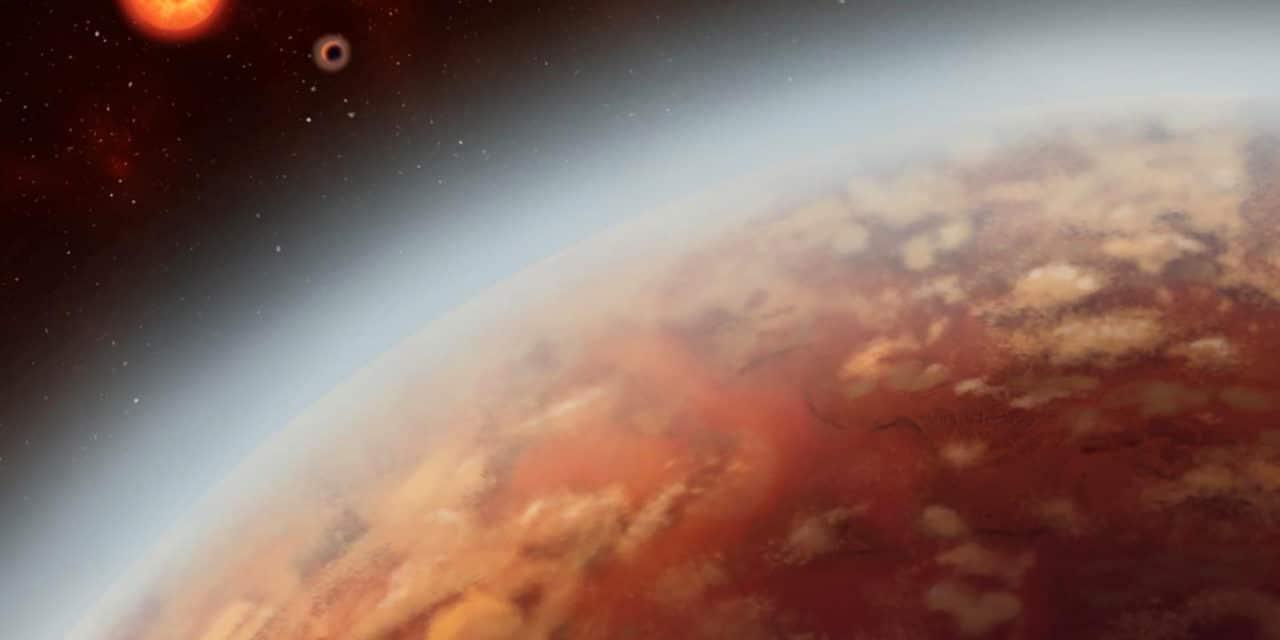K2-18b, un extraño exoplaneta con lluvia y nubes…