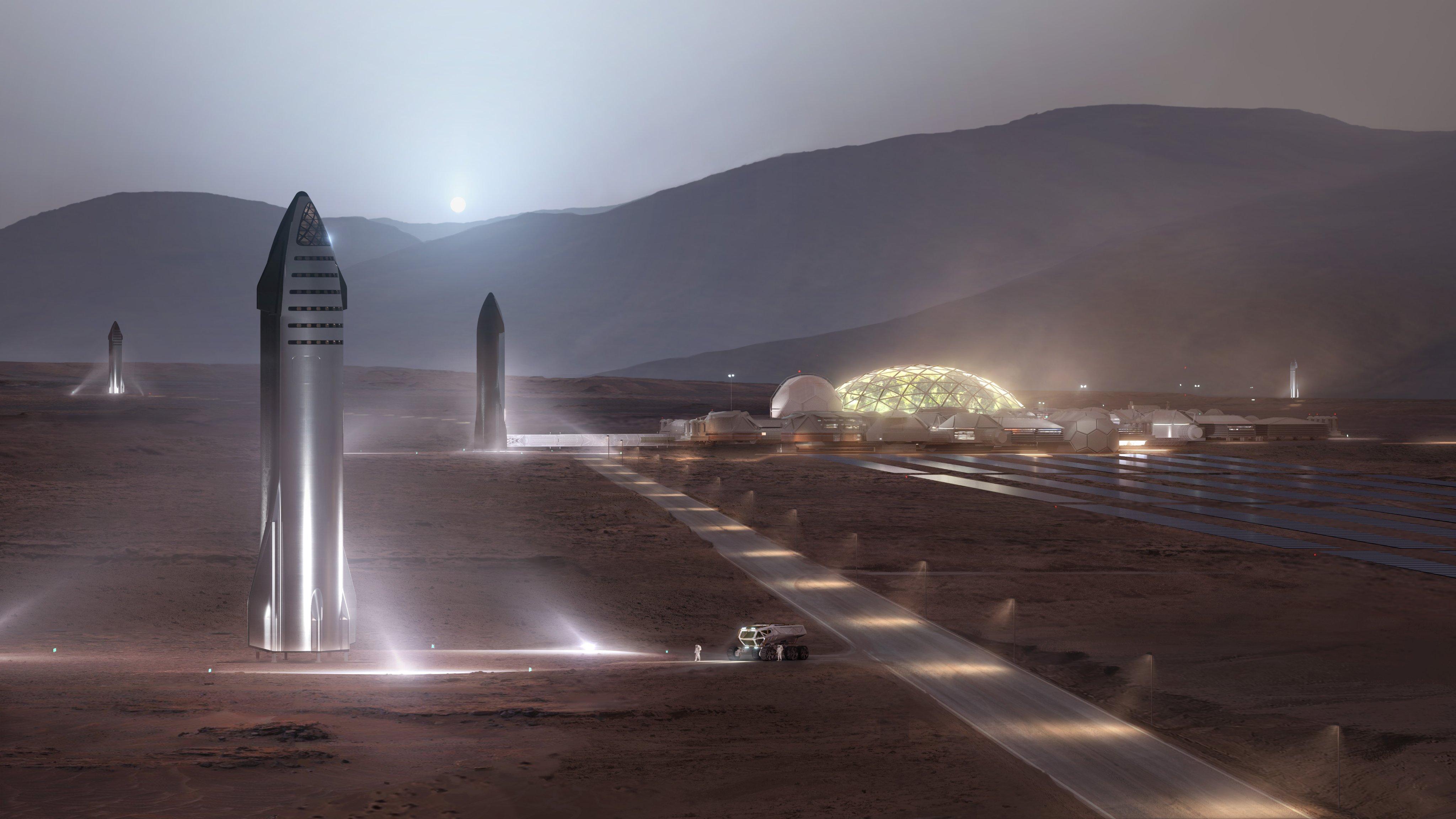 Starship podría viajar a Marte en 2024 — Astrobitácora