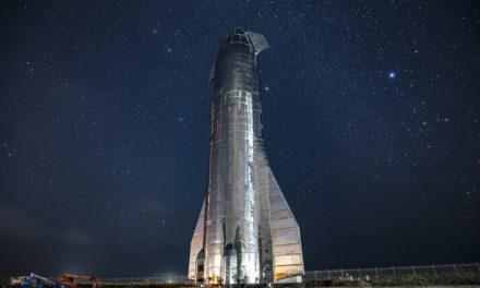 Starship SN8 se prepara para un vuelo de 20 kilómetros