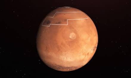 La NASA publica un mapa de hielo de Marte