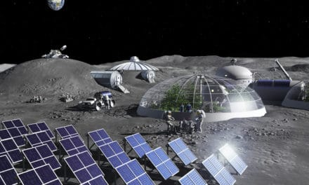 Una planta para crear oxígeno a partir del polvo lunar