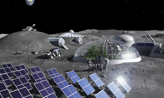 La orina de los astronautas se podrá usar para construir bases lunares