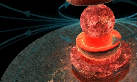 La magnetosfera lunar fue doble de fuerte que la terrestre