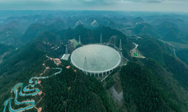 El radiotelescopio FAST y la búsqueda de vida