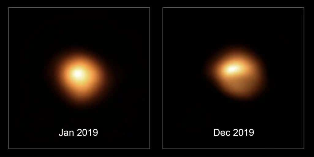 Así será la supernova de Betelgeuse (cuando explote)
