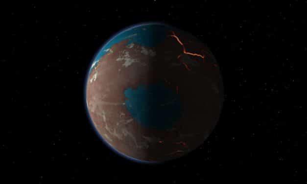El tamaño de Marte limitó su habitabilidad