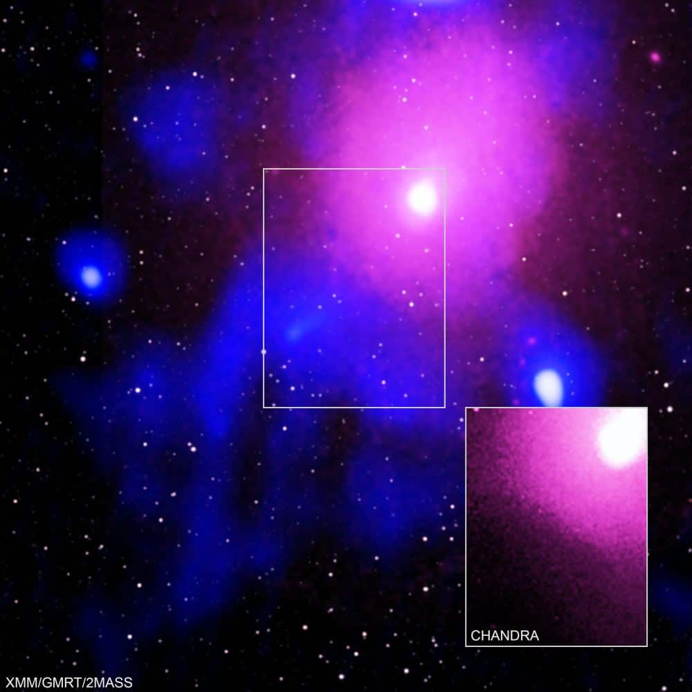 Observan la mayor explosión detectada en el universo