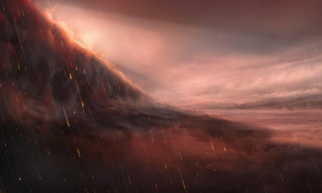 WASP-76b: un exoplaneta en el que llueve hierro