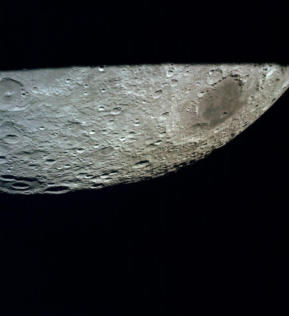 La Luna, vista desde el módulo lunar de Apolo 13