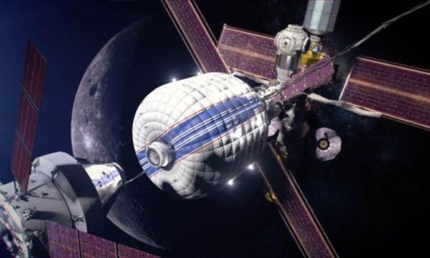 La Lunar Gateway se podría construir con Falcon Heavy