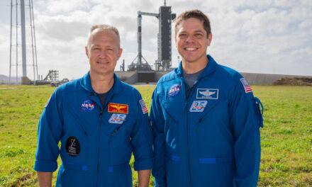 Demo-2: Bob Behnken y Doug Hurley ya están en Florida