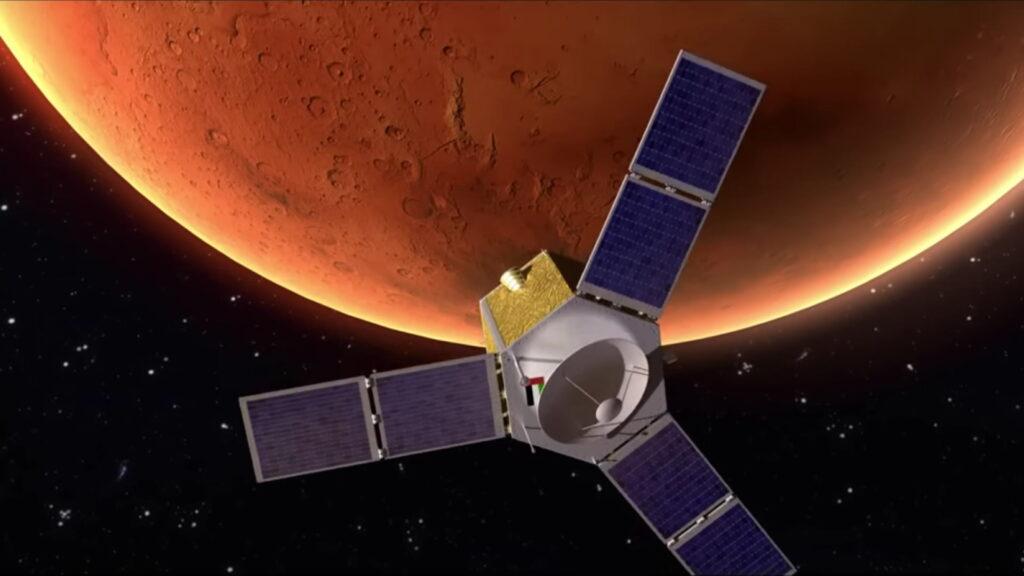 Tres misiones llegan a Marte en los próximos días