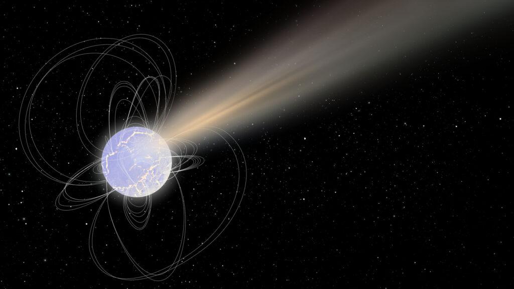 Los magnetares parecen emitir ráfagas rápidas de radio