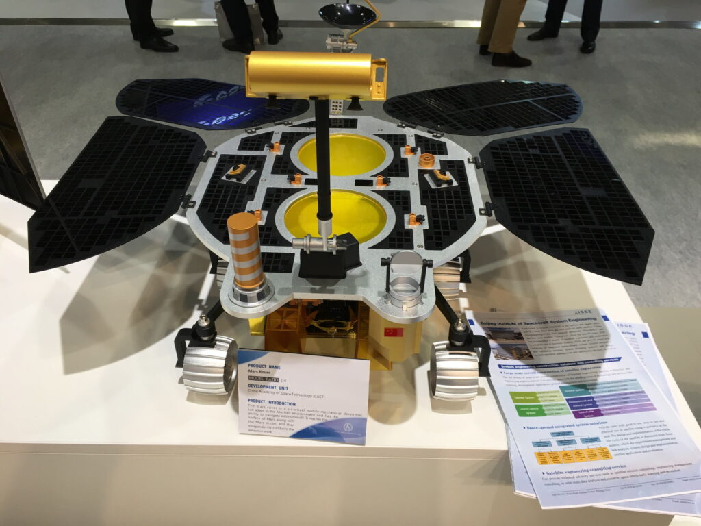La misión Tianwen-1 de China ya está rumbo a Marte