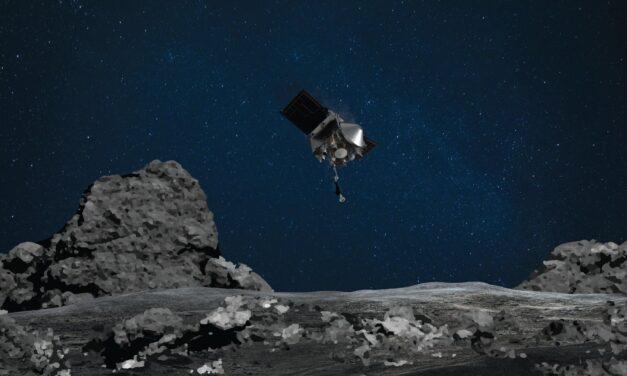 La sonda OSIRIS-REx recoge muestras de Bennu