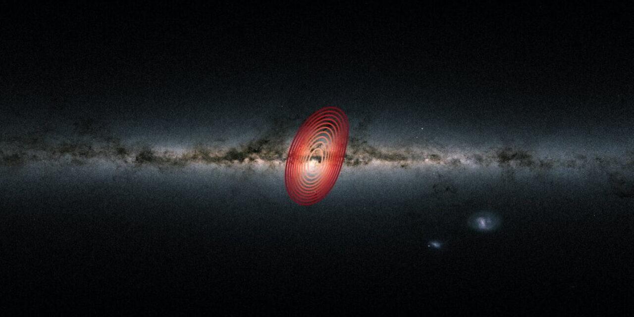 Descubren una galaxia fósil en la Vía Láctea