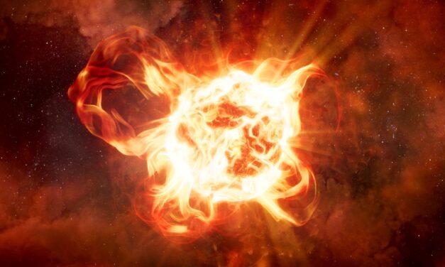 El oscurecimiento de VY Canis Majoris