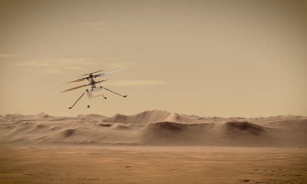 El primer vuelo de Ingenuity en Marte será en abril