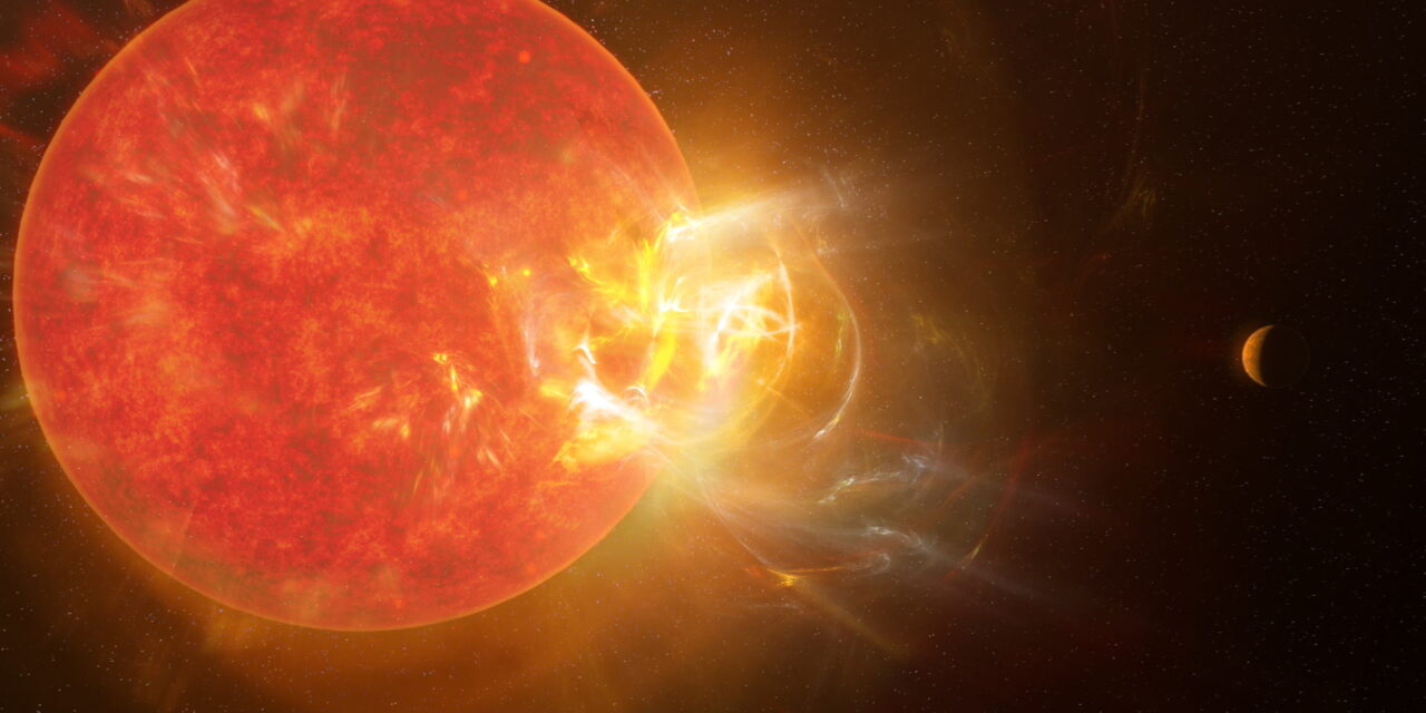 Las hostiles megallamaradas de Próxima Centauri