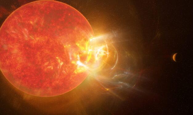 Las superllamaradas no son letales para los exoplanetas