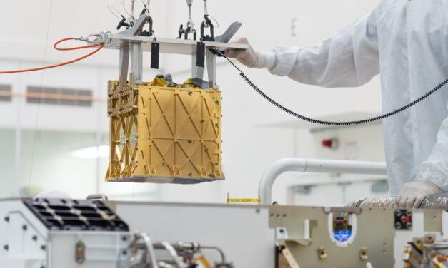 MOXIE ha extraído oxígeno de la atmósfera de Marte
