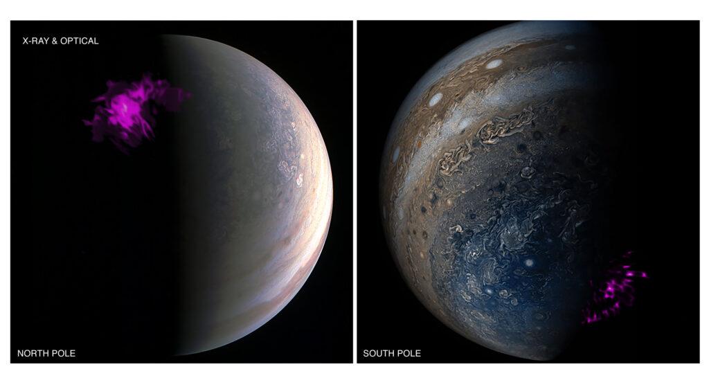 El misterio de los rayos X en las auroras de Júpiter