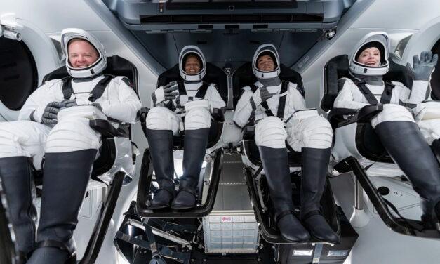 La misión Inspiration4 ya está en la órbita de la Tierra