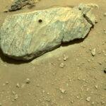 Perseverance ha recogido la primera muestra de roca