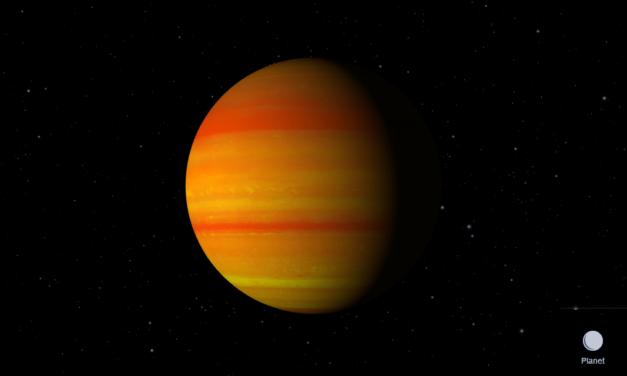 Detectan nubes en un exoplaneta y miden su altitud